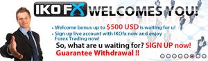 IKOFX - 40% Deposit Bonus